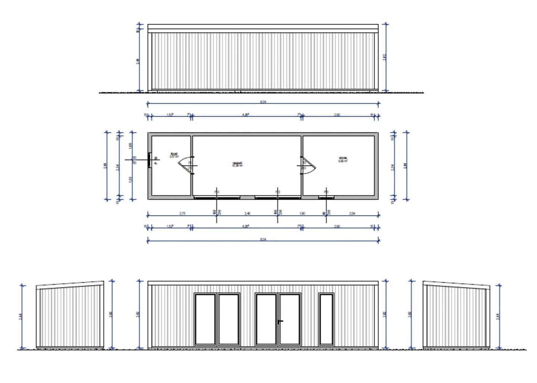 MF22 fa szerkezetes alaprajz