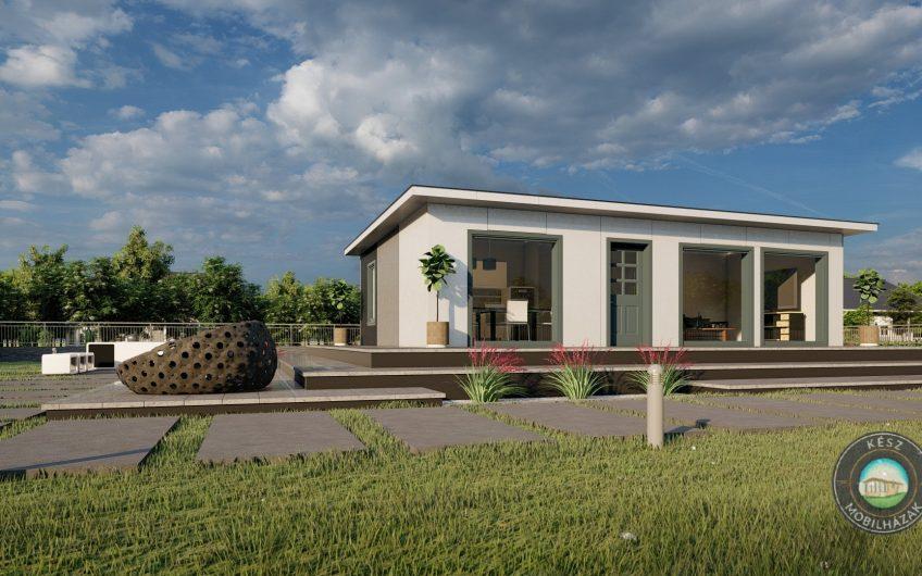 Zadar 75 m²-es moduláris családi ház