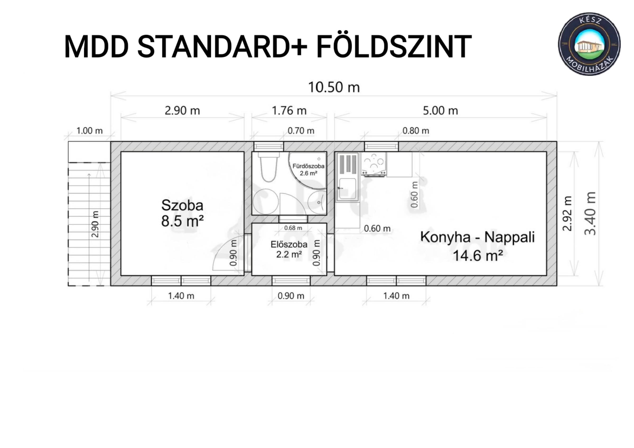 MDD50 STANDARD+ FÖLDSZINT