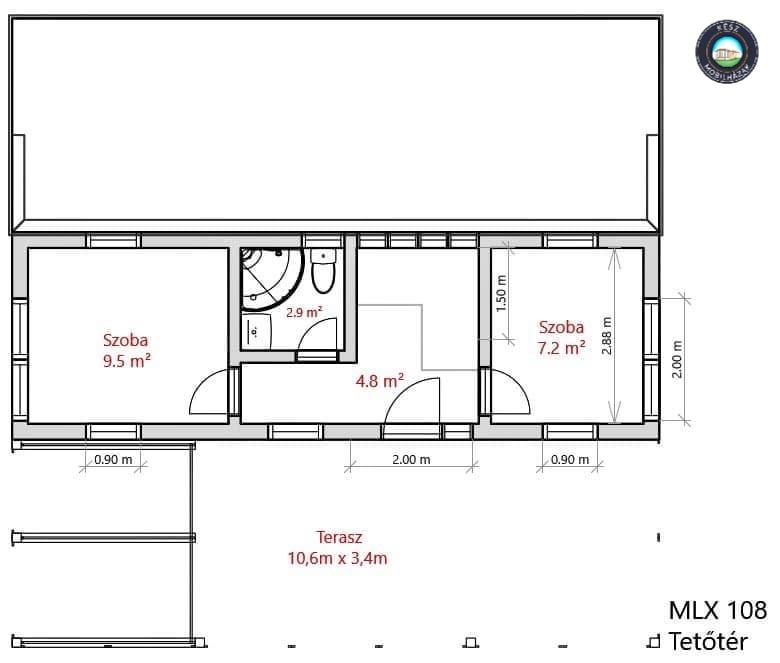 MLX108 emelet