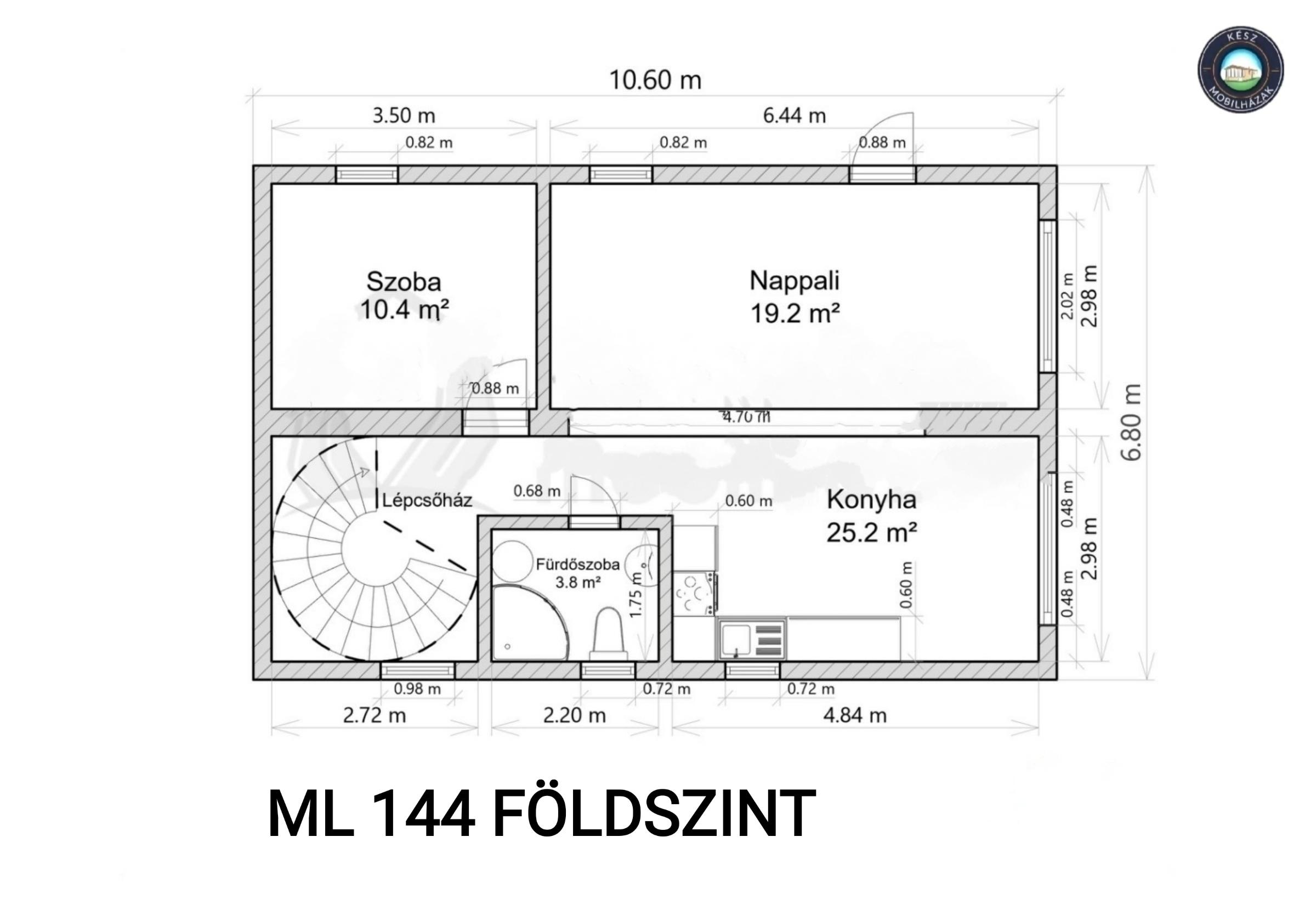 ML144 földszint